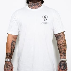 Men's T Shirt  Surrounded By Snakes & Fakes